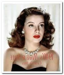 hair and makeup styles of the 1940s google search