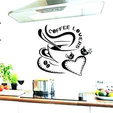 kitchen wall decal stickers decals for fashion love