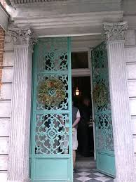 New, Green (non Oxidized Making Them Black) Wrought Iron Doors, French  Quarter, New Orleans.