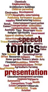 list of speech topics