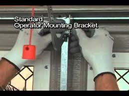 garage door installation diyMartin Garage Door Operator Mounting Bracket  YouTube