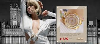 <b>2019 Luxury Brand</b> lady Crystal Watch <b>Women</b> Dress Watch ...