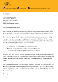 cover letter description how to write a great cover letter step by step resume genius