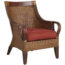 elegant rattan upholstered dining chairs