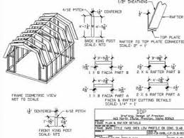 Best 25 Gambrel Roof Ideas On Pinterest  Gambrel Barn Shed Gambrel Roof Plans