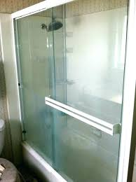 shower door cleaner hard water stain remover shower door best way to clean glass shower doors