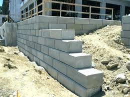 cement block wall cinder block wall anchors cement block wall unique ideas cement block retaining wall charming freestanding cement