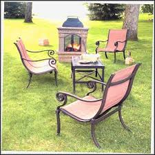 sears patio set with firepit patios