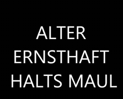 Halts Maul Tumblr