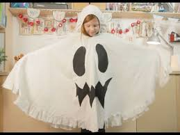 Family Crafts: How to make a <b>Halloween ghost costume</b> from an old ...