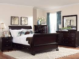 dark wood furniture decorating. Charming Dark Wood Furniture Bedroom Decorating O