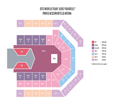 Bts World Tour 2018 Seating Chart Concert 411 Bts Love Yourself World Tour 2018 Unitedkpop