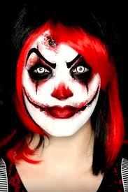 40 amazing costumes that only use makeup scary clown