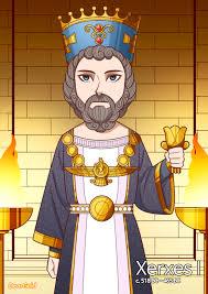 History of Iran_Achaemenid dynasty] Xerxes I by HistoryGold777 on DeviantArt