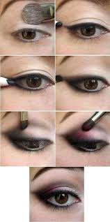 using simple colors and a kajal pencil you can get it ready in minutes