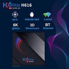 <b>H96 Max H616</b> 4GB RAM 64GB ROM 5G Wifi bluetooth 4.0 <b>Android</b> ...