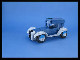Foldable Paper Car I Could Harley Wait To Show You These Origami Vehicles