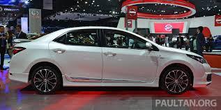 GALLERY: Toyota Corolla Altis ESport Nurburgring Edition at ...