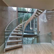 china modern curved staircase with glass railings china curved staircase modern curved staircase