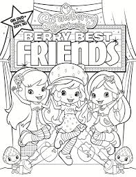 Free Printable Strawberry Shortcake Coloring Page | Strawberry ...