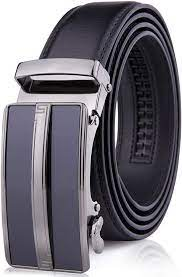 Amazon.com: Leather Ratchet Belts For Men - Mens Belt With Automatic  Sliding Buckle For Suits, Jeans And Uniform - Designed In The USA - Fathers  Day Gifts For Men: Clothing