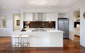 Of White Kitchens With Dark Floors Dark Floors White Bench Tops And Cabinets Exact Colours Except