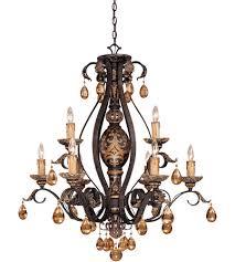 savoy house tracy porter tracy porter eldora 9 light chandelier in como black w gold 1 1813 9 62