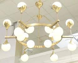 glass orb chandelier decor for west elm