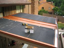 patio roof panels. The Perimeter Metal And 24 Gauge Steel Panels Are Installed. Has A Kynar Patio Roof O