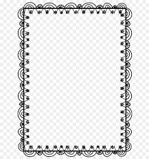 Ms Office Word Template Microsoft Word Template Document Clip Art Doodles Png Download