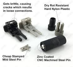 com srrb direct low voltage replacement landscape light cable connector for malibu paradise moonrayore 3 pairs 6pcs toys
