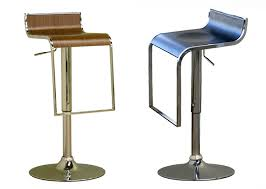 LEM Piston Style Bar Stool Black or Walnut