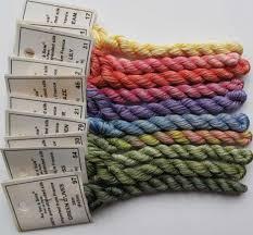 Soie D Alger To Dmc Conversion Chart Chameleon Silk Thread Soie D Alger