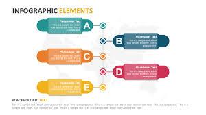 5 Steps Vertical Banners Timeline Template Slidemodel