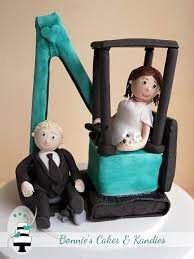 scooped' off his feet by this custom made digger wedding cake Wedding Cake Toppers Brisbane Queensland gympie brisbane wedding cake toppers Romantic Wedding Cake Toppers