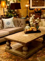 Amazing Rustic Coffee Table Decor Room Design Wonderful