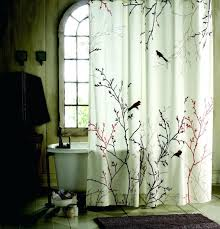 smlf statue of nature shower curtain effort to bring nature awe designer fabric shower curtains extra long