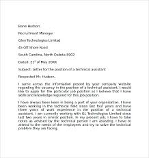 Free Cover Letter Examples Simple Cover Letter Examples 10 Download Free Documents