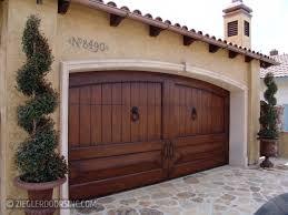 Garage Door wood garage doors photographs : Mediterranean Garage Doors   Ziegler Doors, Inc.