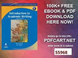 Writing academic english alice oshima ann hogue pdf ELT Books