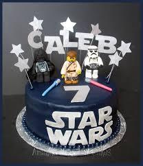 Star Wars Lego Decorations Amandas Custom Cakes Lego Star Wars