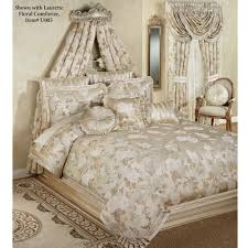 victoria rose wall teester bed crown antique ivory