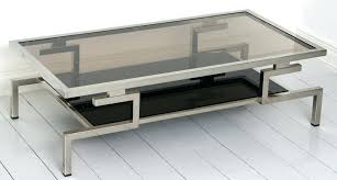 glass and chrome coffee table simple lighting color with additional coffee table glass chrome coffee table