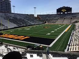 Kinnick Edge Seating Chart Look Kinnick Stadium North Endzone Renovations