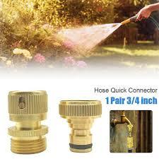 3 4 garden water hose connector female