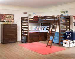 Dazzling triple bunk beds in Traditional boy brown dorm girl ladder modern  sofa storage teen tween