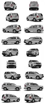 2014 Honda Pilot Color Chart 2015 Honda Pilot Colors Guide In 8 Animated Turntables