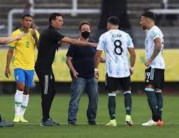 Brazil v Argentina suspended after ...