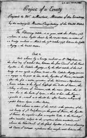louisiana purchase primary documents of american history  draft copy of the louisiana purchase treaty dated 29 and 30 1803