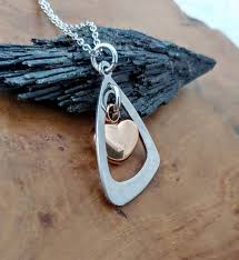 triangle infinity urn pendant cremation